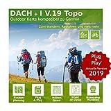 Dach V.19 - Outdoor Topo Karte kompatibel zu Garmin Edge 1030, Edge Touring, Edge Touring Plus