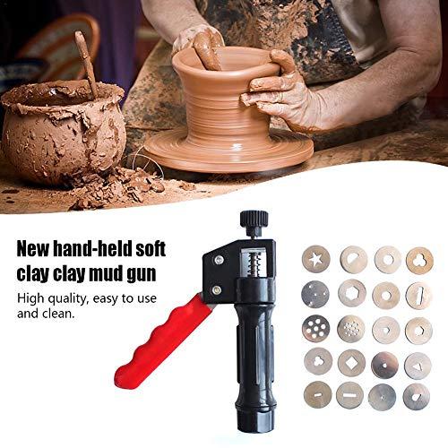Sugarcraft Gun,professional Clay Extruder,fondant Presse Mit 20 Formen Zuckerpaste Extruder Werkzeug, Dekoration Werkzeug Backen Baking Tool