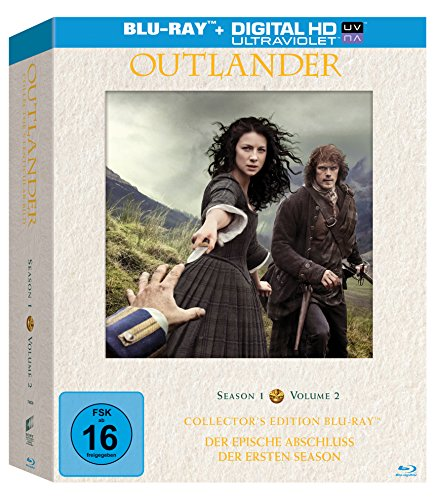 Outlander – Season 1 Vol.2 (Collector's Box-Set (3 Discs)) [Blu-ray] [Collector's Edition]