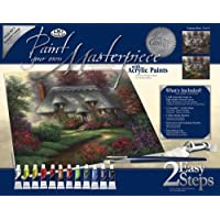 Royal & Langnickel Paint Your Own Masterpiece - Kit per pittura, motivo: cottage romantico
