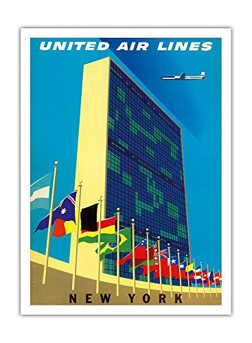 batiment-des-nations-unies-new-york-united-air-lines-airline-affiche-vintage-de-voyage-vintage-airli