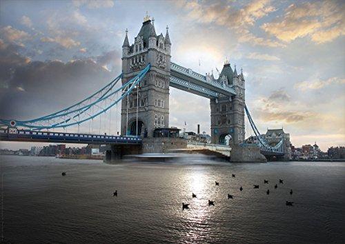 Postereck - 0453 - Tower Bridge, London - Poster 29.7 cm x 42.0 cm DIN A3
