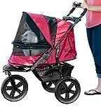 Best Pet Gear Dog Strollers - Pet Gear No-Zip AT3 Pet Stroller, with Zipperless Review