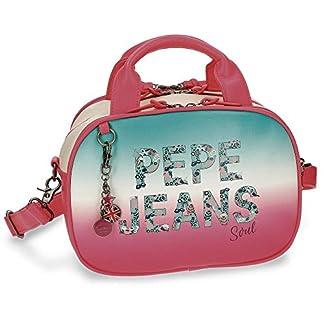 Pepe Jeans Nicole Neceser de Viaje, 28 cm, 11.17 Litros, Multicolor