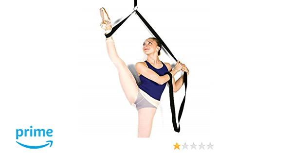 global4outlet Ballet Stretch Band for Dancers Flexability Leg Stretcher Foot Stretching Exercise Training Straps Perfect for Girls Women Dance and Gymnastics Yoga Cheerleading Cheerleader Training