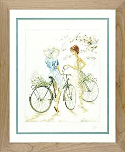 Lanarte PN-0007949 Girls on Bicycle, Pack of 1