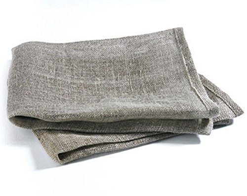 Price comparison product image Pack of 2 Lint Free 100% Natural Linen Window Cleaning Scrim Cloths