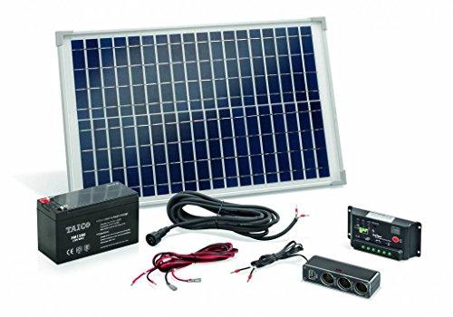 Esotec Poly 120005 Solar-Set 20 Wp inkl. Akku, inkl. Anschlusskabel, inkl. - Akku 12v Versorgung
