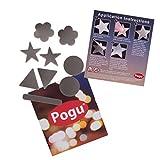 Pogu 3m Scotchlite–reflektierend Textil Aufkleber Pack–selbstklebend und zum Aufbügeln–Pferd, Reiten, Reitsport, Decke, Hel