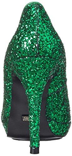 Buffalo London  Glitter, Escarpins pour femme Vert
