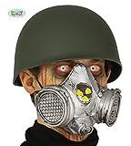 Guirca Gasmaske Nuklear Maske Latex Halloween Horror Gas Atomkern Karneval Fasching
