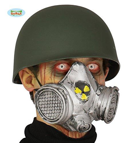 Guirca Gasmaske Nuklear Maske Latex Halloween Horror Gas Atomkern Karneval ()