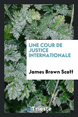 Une Cour de Justice Internationale