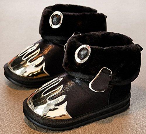 Neve Forro Botas Três De Estrada Inverno Inverno Botas Preto De 35 Neve Botas Cores Quente Babá 25 De Sapatos Gr Chama De Com Em Smith Fivela Brilhante q7wCa