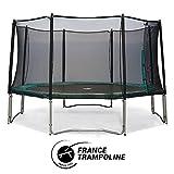 - Trampoline octogonal Waouuh - 4 Tailles : 360 cm / 390 cm / 430 cm / 460 cm (430)