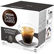 NESCAFÉ Dolce Gusto Espresso Intenso Coffee Pods, 16 capsules (16 Servings)