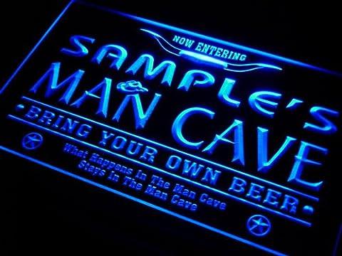 pb-tm Name Personalised Custom Man Cave Beer Bar Neon Light Sign