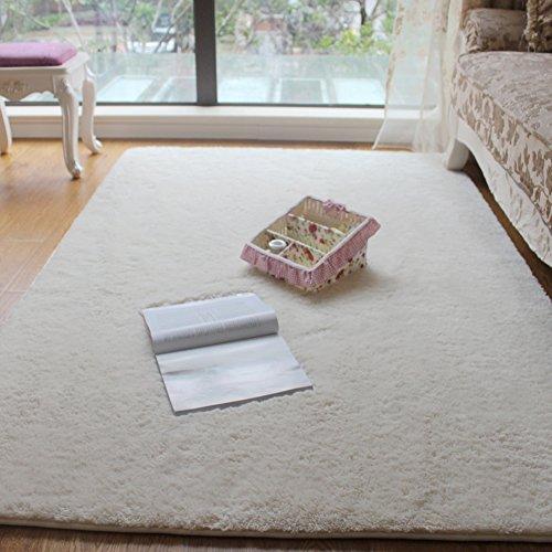 DULPLAY Korallen teppiche,Indoor Bereich Teppich Weiche noppewolldecken Einfache Sofa-Seite Mat Wohnzimmer Schlafzimmer Maschine waschbar-E 120x170cm(47x67inch)