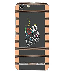 PrintDhaba Quote D-4933 Back Case Cover for LENOVO VIBE K5 (Multi-Coloured)