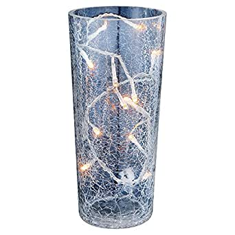 vase blumenvase glasvase leuchte licht lampe bodenvase deko globo saturnus 28175. Black Bedroom Furniture Sets. Home Design Ideas