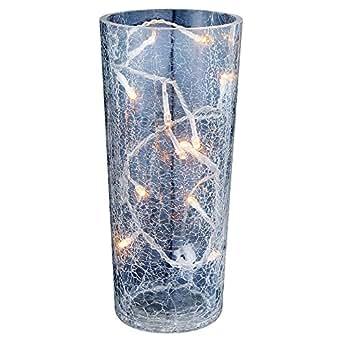 vase blumenvase glasvase leuchte licht lampe bodenvase deko globo saturnus 28175. Black Bedroom Furniture Sets. Home Design Ideas