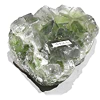 Healing Crystal Natural Green Fluorite Cluster 474 gm Crystal Therapy, Meditation, Reiki Stone preisvergleich bei billige-tabletten.eu