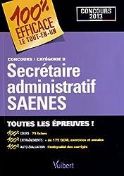 Secrétaire administratif SAENES : Concours catégorie B