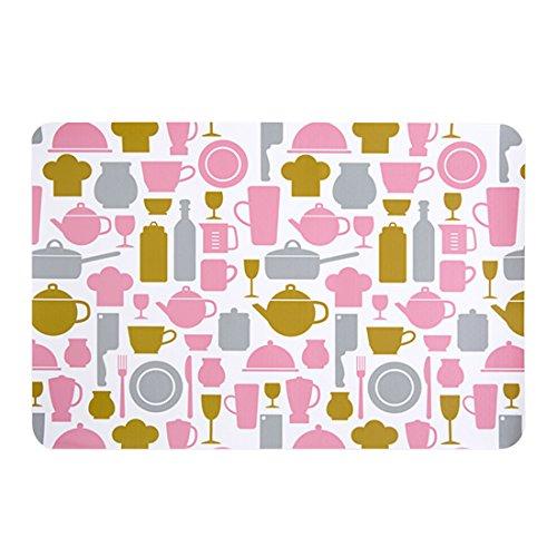 AAPP SHOP Rechteckige küche Western Food pad Home wasserdicht tischset tischset Europäischen Isolation pad tischset Anti-hot Plate Matterosa