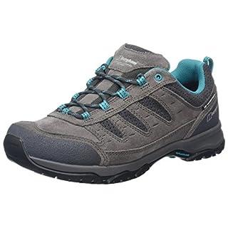 Berghaus Women's Expeditor Active AQ Tech Shoes, Multicolor (Grey/Blue Z72), 5.5 UK