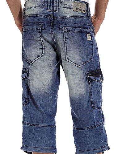 TIMEZONE Herren 3/4-Jeans used denim