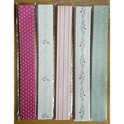 John Lewis adhesiva puntos rayas vintage Cadenas de papel, ideal para fiesta de Navidad decoración, Art & CRAFT