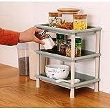 Anvel® Multi Use Storage Rack - 3 Layer - Best for Kitchen - Bathroom - Living Room - Bedroom - Small & Space Saving Storage Organizer Rack Shelf