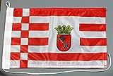 Bootsflagge Bremen 20 x 30 cm in Profiqualität Flagge Motorradflagge