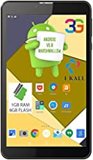 IKALL IK2 Tablet (7 inch,8GB,Wi-Fi+3G+Voice Calling),Black Color