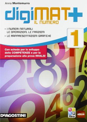 Digimat +. Aritmetica-Geometria-Quaderno competenze. Per la Scuola media. Con e-book. Con espansione online: 1