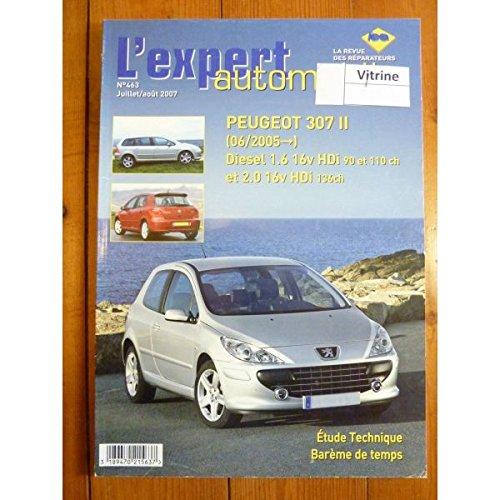 Lea-l'expert Automobile - 307 HDi 05- Revue Technique Peugeot Etat - Bon Etat par L'EXPERT AUTOMOBILE