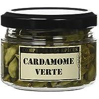 Comptoir des Epices Cardamome Verte en Gousses 35 g -