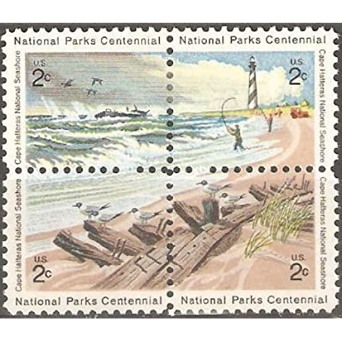 USA Collectible Postage Stamps: 1972 National Parks