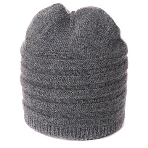 Vieux chapeau/Jours en automne et hiver bonnet/Vieux double épais chaud tricot hat B