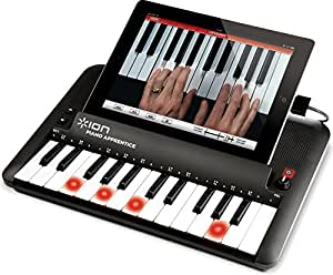 ION Audio Piano Apprentice 25 Key Lighted Keyboard for iPad, iPhone and iPod Touch