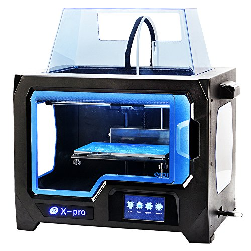 QIDI TECHNOLOGY 3D Drucker New Model : X -pro ,4.3 Inch Touch Screen,Dual Extruder With 2 Spool of Filament,Works With ABS And PLA - 2