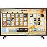 Telefunken LED-TV 124 cm 49 Zoll B49U546A EEK A+ DVB-T2, DVB-C, DVB-S, UHD, Smart TV, WLAN, CI+ Sch