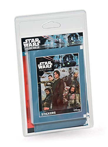 Rogue One - A Star Wars Story : 16 + 2 Pochettes de 5 stickers