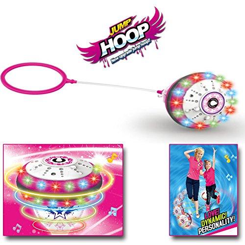 Jump Hoop® LED Farbwechsel Sprungkreisel mit Sound, 2in1 Hüpfspiel thumbnail