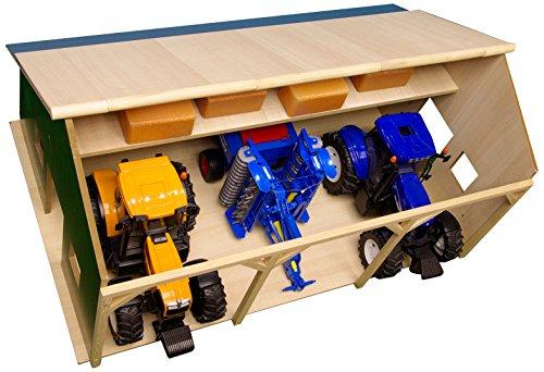 Kids Globe 1000572 - Bauernhof-Schuppen für Bruder