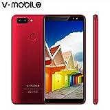 V MOBILE R11S Unlocked Étanche Smartphone Portable Débloqué 5,72 Pouces HD IPS Téléphone Android 1Go + 16Go Double Caméra Double SIM 2800mAh Batterie WIFI GPS