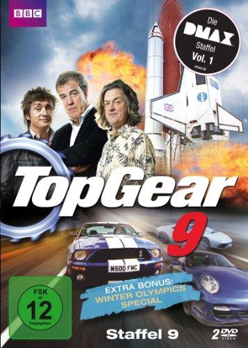 Top Gear Staffel 9 (Die DMAX Staffel, 5 Folgen, deutsche & englische Sprachfassung) [2 DVDs] [Edizione: Germania]
