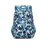Schulranzen der Grundschule-Kinder 6-12 Jahre alte Mädchen-Jungen-Taschen-Reise-Paket im Freien ( Color : Camouflage )