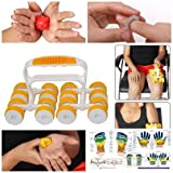 #3: Super INDIA Store Acu Therapy Power Body Roll for Body Massage and Total Pain Relief with Acupressure Health Care Products