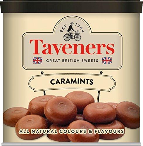 Taveners Cara Mints Karamell-Hartbonbons mit Minzgeschmack 200g